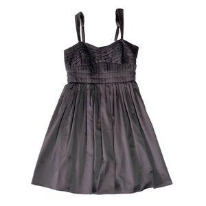 BCBGeneration Spaghetti Strap Black Dress